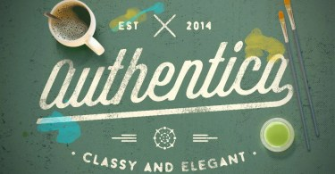 Authentica [4 Fonts]   The Fonts Master