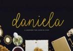 Daniela Script [1 Font] | The Fonts Master