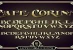 Lhf Cafe Corina [1 Font] | The Fonts Master