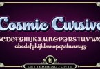 Lhf Cosmic Cursive [2 Fonts] | The Fonts Master
