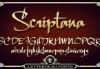 Lhf Scriptana [2 Fonts] | The Fonts Master