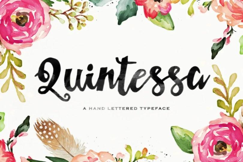 Quintessa [1 Font] | The Fonts Master