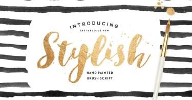 Stylish Brush [1 Font]