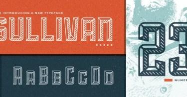 Sullivan [3 Fonts] | The Fonts Master