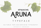 Aruna Typeface [6 Fonts] | The Fonts Master