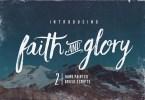 Faith &Amp; Glory [2 Fonts] | The Fonts Master
