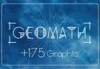 Geomath + 175 Graphics [3 Fonts] | The Fonts Master