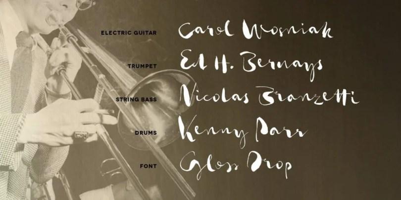 Gloss Drop [1 Font] | The Fonts Master