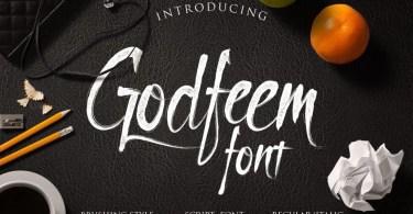 Godfeem [2 Fonts] | The Fonts Master