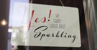 Luxus Brut Sparkling [1 Font]   The Fonts Master