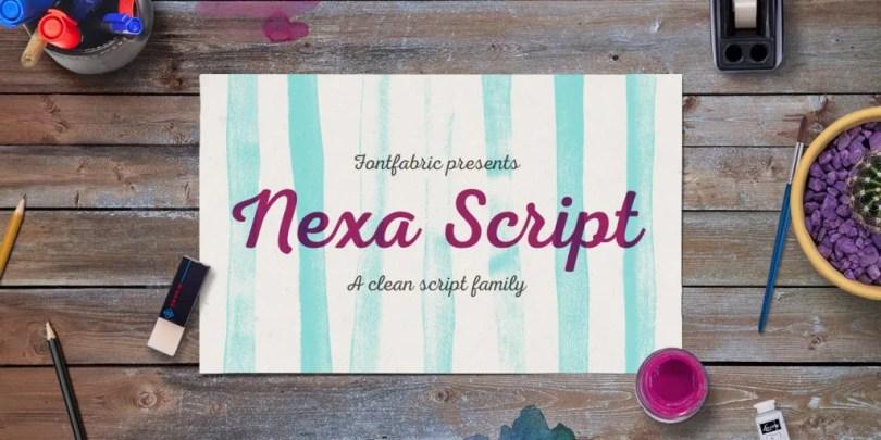 Nexa Script [6 Fonts] | The Fonts Master