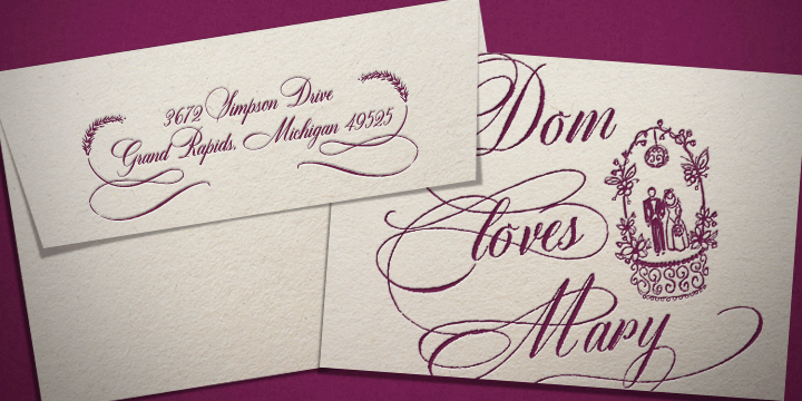 Dom Loves Mary [8 Fonts]   The Fonts Master