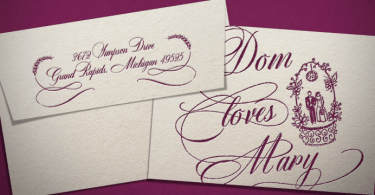Dom Loves Mary [8 Fonts]