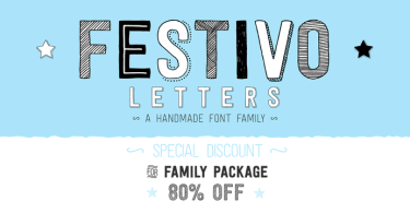 Festivo Letters [19 Fonts] | The Fonts Master