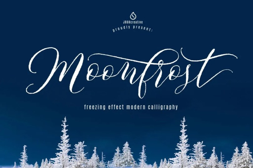Moonfrost Script [1 Font] | The Fonts Master