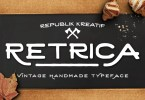 Retrica Typeface [1 Font] | The Fonts Master