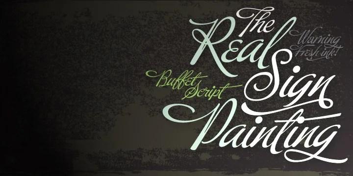 Buffet Script [1 Font]   The Fonts Master