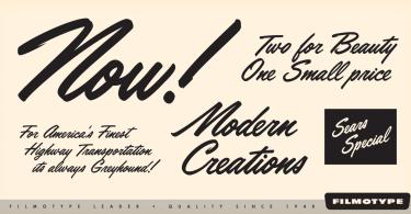 Filmotype Leader [1 Font] | The Fonts Master
