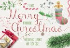 Merry Christmas + Free Goods [5 Fonts + Extras] | The Fonts Master