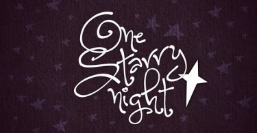 One Starry Night [1 Font]