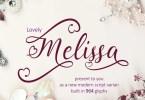 Lovely Melissa [1 Font] | The Fonts Master