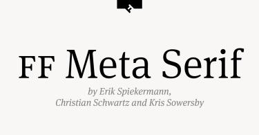 Ff Meta Serif Pro Super Family [12 Fonts]   The Fonts Master