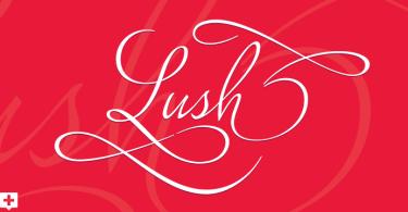 Lush Script [1 Font] | The Fonts Master