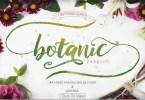 Botanic &Amp; Extras [1 Font + Extras] | The Fonts Master