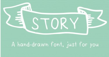 Story [1 Font]   The Fonts Master
