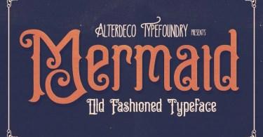 Mermaid [1 Font] | The Fonts Master
