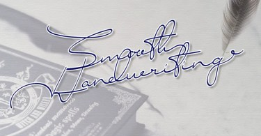 Smooth Handwriting [1 Font] | The Fonts Master