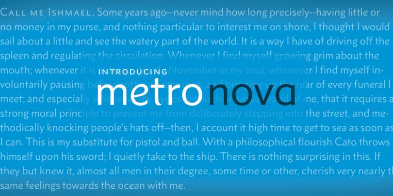 Metro Nova Super Family [26 Fonts] | The Fonts Master