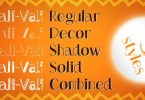 Trali-Vali [5 Fonts] | The Fonts Master