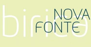 Birica [1 Font] | The Fonts Master