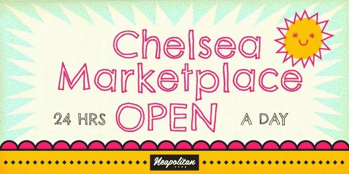 Chelsea Market Open [1 Font]   The Fonts Master