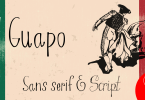 El Guapo [4 Fonts] | The Fonts Master