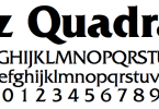Friz Quadrata [9 Fonts] | The Fonts Master