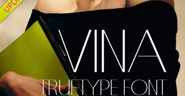 Vina [3 Fonts] | The Fonts Master