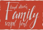 Family Hand Drawn Font [1 Font] | The Fonts Master