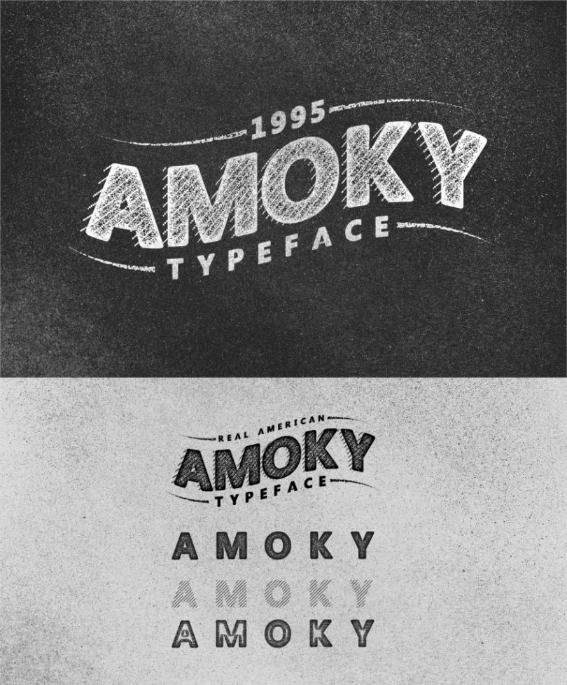Amoky [4 Fonts]   The Fonts Master