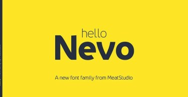 Nevo [14 Fonts] | The Fonts Master