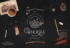 Duwhoers Backpack [7 Fonts + Extras] | The Fonts Master