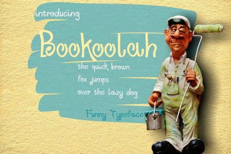 Bookoolah [1 Font] | The Fonts Master