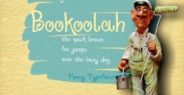 Bookoolah [1 Font]   The Fonts Master