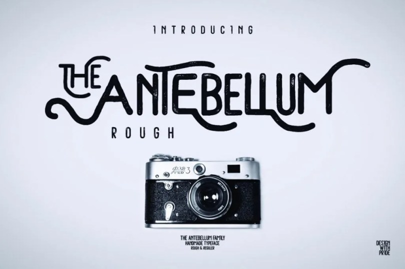 Antebellum [2 Fonts + Extras] | The Fonts Master