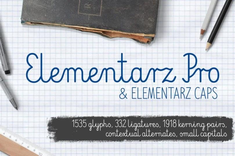 Elementarz Pro [2 Fonts] | The Fonts Master