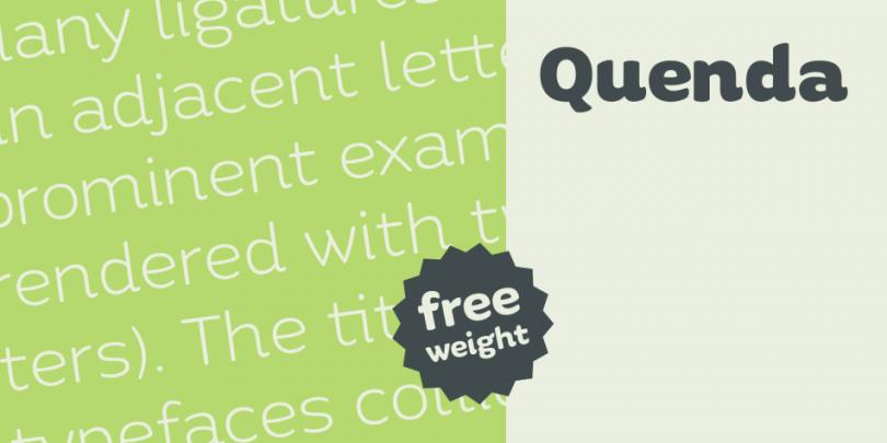 Quenda [6 Fonts]   The Fonts Master