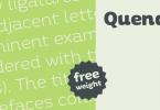Quenda [6 Fonts] | The Fonts Master
