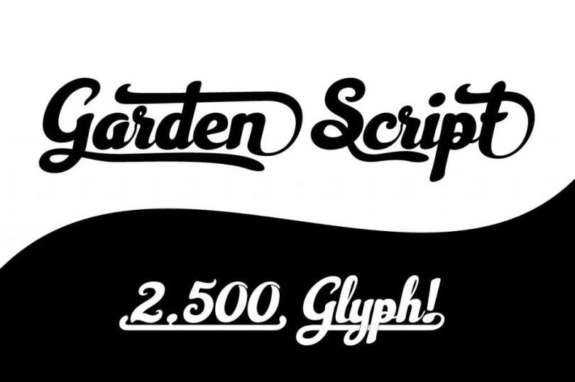 Garden Script [1 Font] | The Fonts Master