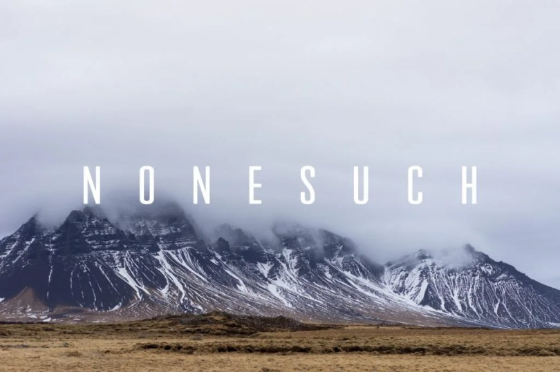 Nonesuch [1 Font]   The Fonts Master